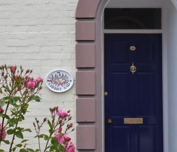 Cherry End Front Door